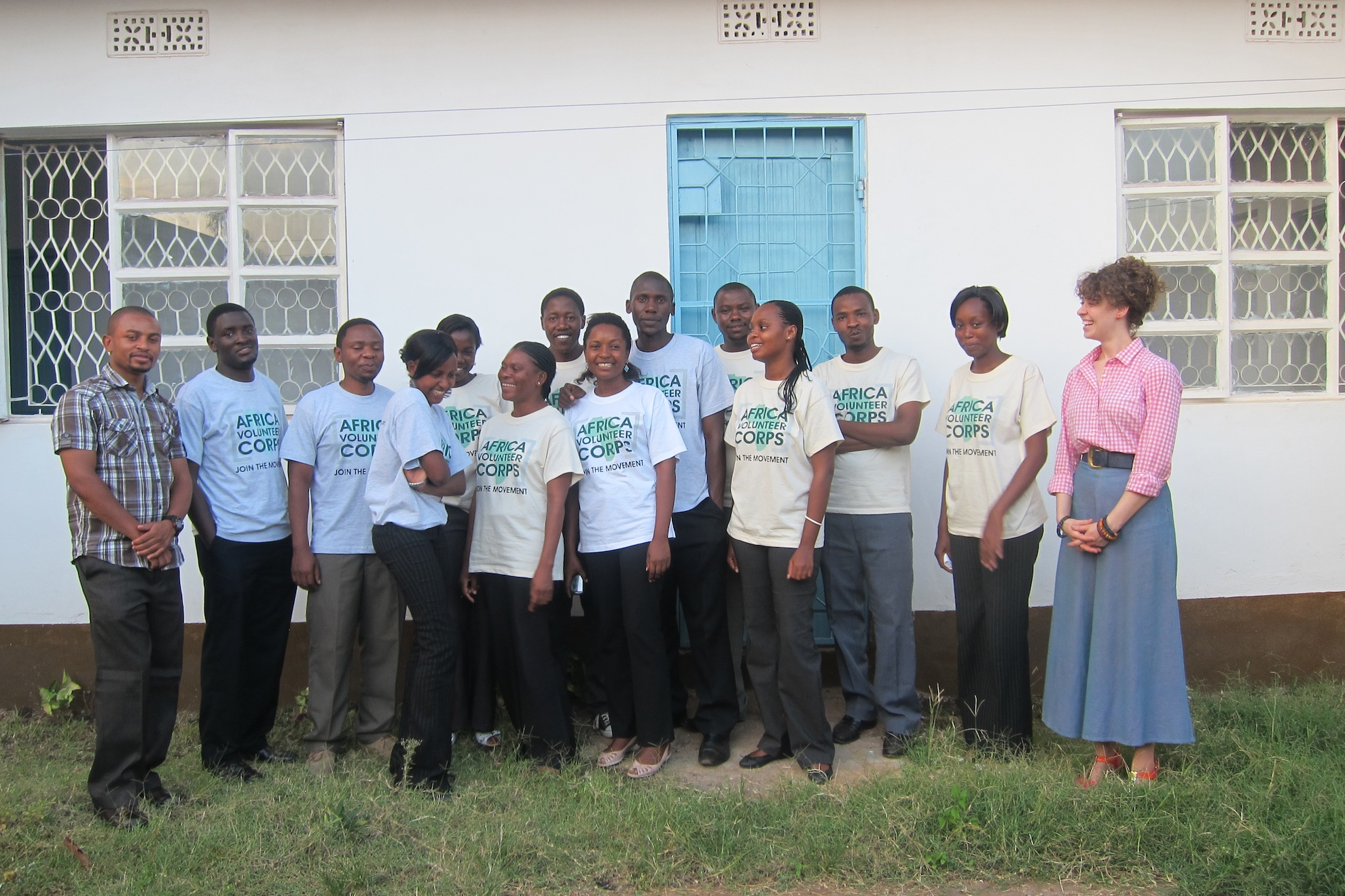 With the 2013 Volunteers